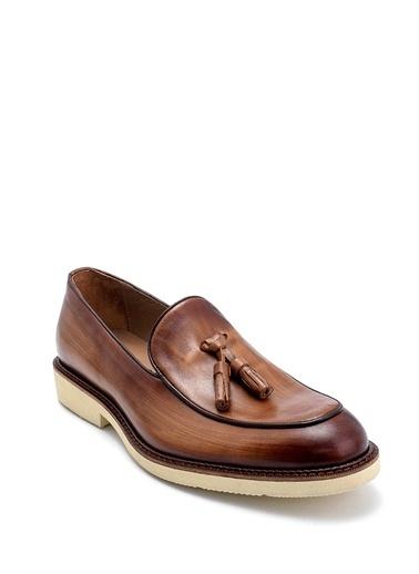Derimod Erkek Loafer(10348) Casual Taba